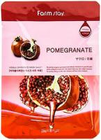 Тканевая маска с экстрактом граната Farm Stay Visible Diference Pomegranate Mask Sheet Pack, 25 мл