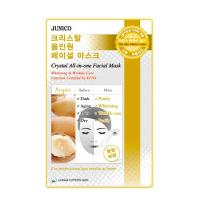 Deoproce - купить Маска тканевая c аргановым маслом Mijin Junico Crystal All-in-one Facial Mask Argan, 24 мл на Deoprocemarket.ru
