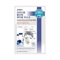 Маска тканевая c коллагеном Mijin Junico Crystal All-in-one Facial Mask Collagen 24 мл